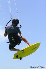 Ocean Park apartment photo - Kitesurfing is popular at Ocean Park beach...take a lesson or just watch