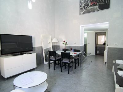 Apartment with Jacuzzi and kitchen Naples center