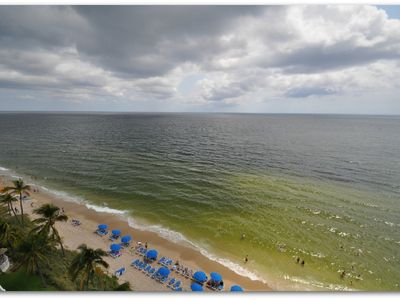 Fort Lauderdale hotel rental - Balcony view facing North
