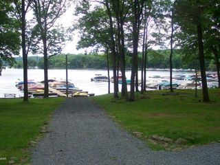 Lake Wallenpaupack townhome photo - Short walk to the lake (4 minutes)
