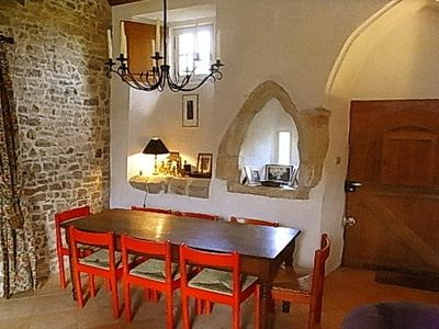 Carentan chateau / country house rental - Dining hall