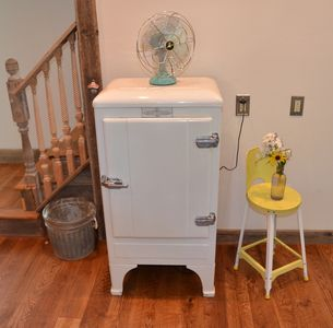 Authentic 1920's working refrigerator