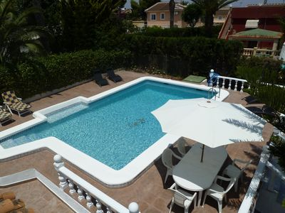 Los Balcones villa rental - Private swimming pool