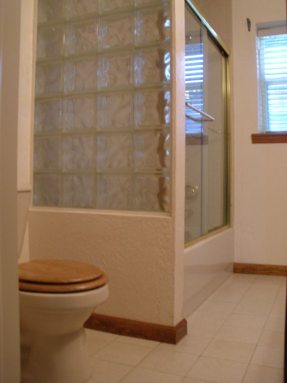 Bathroom attached to Bedroom #1 and Hall