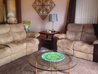 North Muskegon house photo - Living Room - Reclining Sofa and Loveseat
