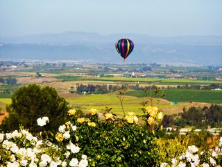 Hear the Balloons push through the morning sky... - Temecula estate vacation rental photo