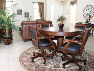 Bellavida Resort house photo - Oak and Leather gaming table