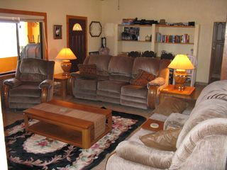 San Quintin house photo - Living room and family room.