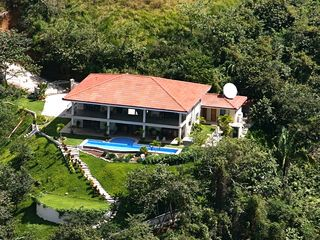 Nosara villa photo - Aerial view of the villa and property