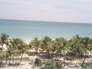 Isla Verde condo photo - View from apartment balcony