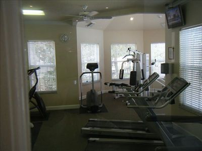 Community fitness room