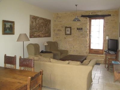 Sarlat la Caneda cottage rental - Living room of Le Rosier