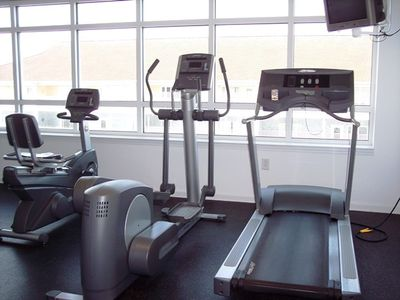 Crescent Beach condo rental - Fitness center