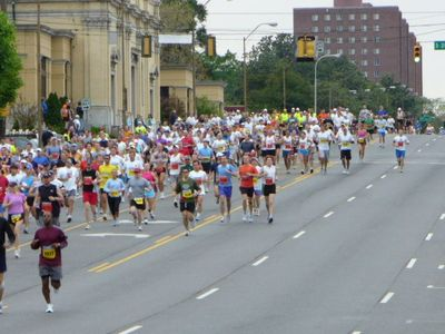 The annual Music City Marathon coming down West End!