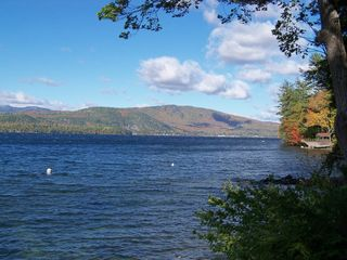 Newfound Lake cottage photo - Fall Foliage on Columbus Day Weekend