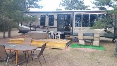 Sandpiper 40ft @The EvansCliff RVing /HotTub SAVE 20% BOOK EARLY!!