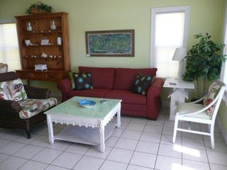 El Centro Beach house photo - New sleep sofa and fresh paint highlight spacious, cheery living room.