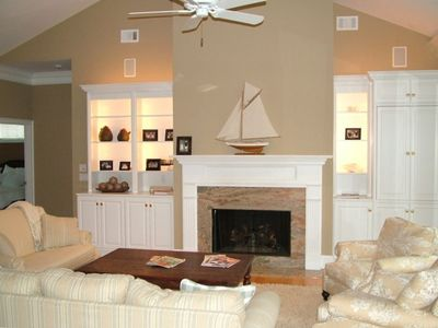 Open living room - perfect for gathering with friends and family.
