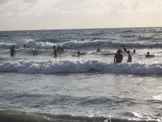 Deerfield Beach condo photo - Surfing at 7:00am.