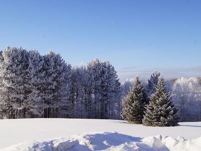 Spectacular Winter views at Birch Meadow!