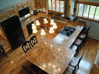 Wilmington chalet photo - Gourmet Kitchen! Check out those countertops. It has everything you will need!!