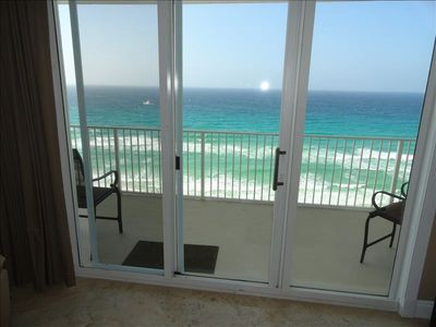 1 of 3 Sliding glass doors