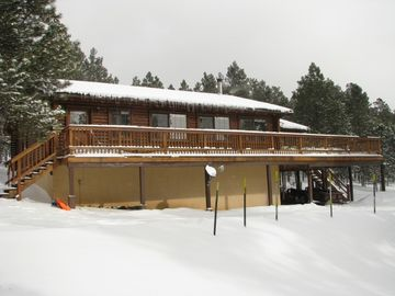 Angel Fire cabin rental - Opening weekend Dec 2012...Yes!!!