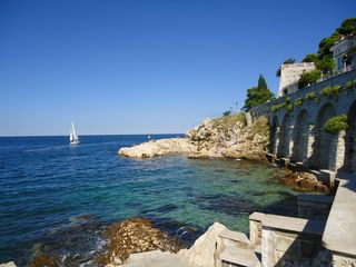 Rovinj City apartment photo - The nearest beach Monte - 300 m from the apartment