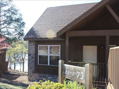 Branson West condo rental - Experience the lake front beauty of Silver Wolf Lodge.
