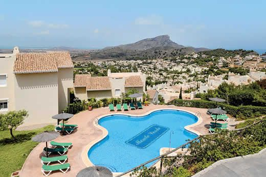 Large apartment with stunning views w/ sun terrace, BBQ, free Wi-Fi & A/C