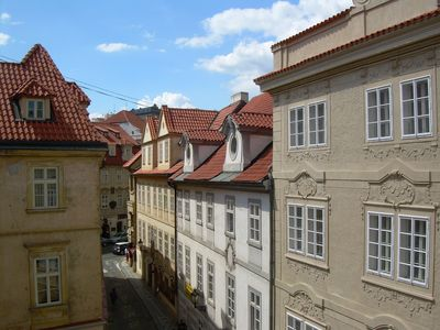 Mala Strana - Hradcany apartment rental - Maltezske 5 : view from the bedroom