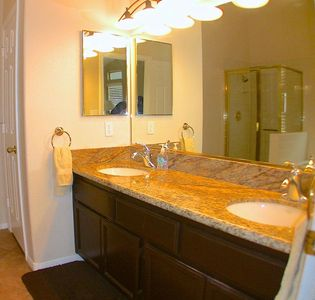 Las Vegas house rental - Master Bath