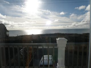 Truro house photo - Enjoy the late afternoon view from the master bedroom deck.