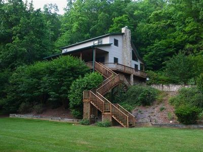 Hiawassee estate rental - VIEW OF FROM PLAYING FIELD