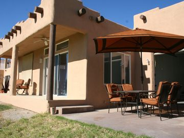 Needles house rental - Back Porch overlooking Golf Course