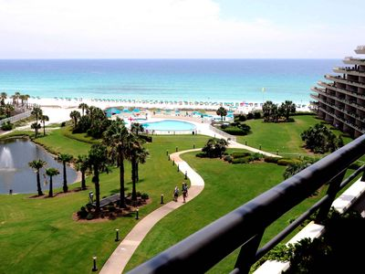 Elite Paradise - View from this 2 bedroom gulf-front condo in Destin!