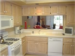 Kitchen with all new amenities - remodeled