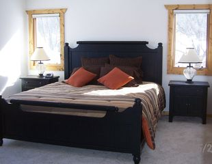 Galena house photo - Master Bedroom with Comfy King Size Bed