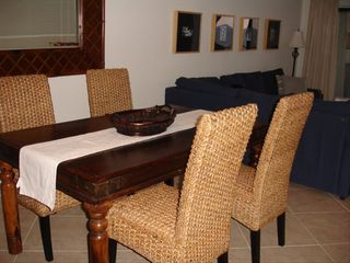 Hutchinson Island condo photo - Dining Area + 2 counter stools (not shown)