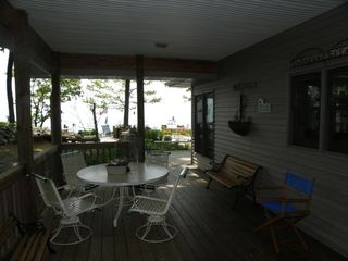 Stony Lake house photo - Porch with views