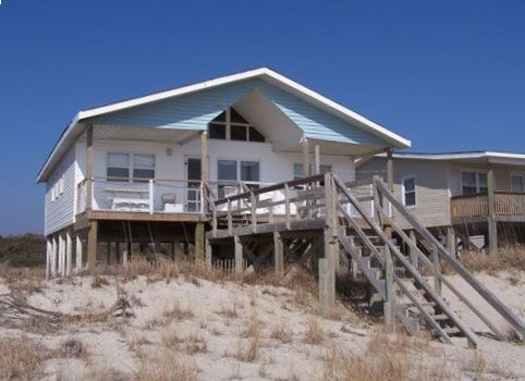 Ocean Front Cottage Oak Island Nc With Wifi Vrbo