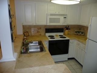 St. Augustine Beach condo photo - Updated kitchen with all the ammenities