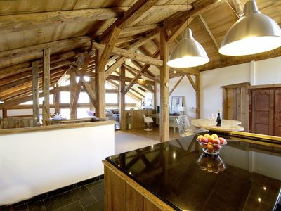 Beautiful, luxurious 17th century chalet, Megeve, St Gervais