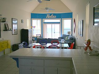 St George Island cottage photo - View from kitchen