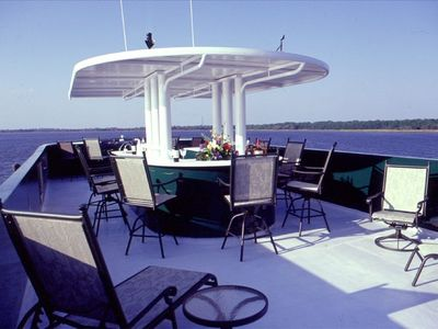 Top Deck with bar and sundeck