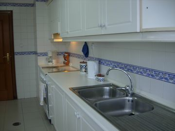 Spacious fully-equipped kitchen