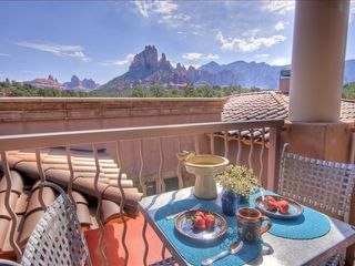 Sedona condo photo - Morning Coffee On Your Private Deck