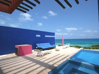 Isla Mujeres house photo - Pool Terrace