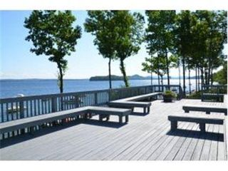 Gilford condo photo - Public Deck Area