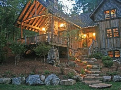 Black Mountain house rental - Fairy tale cottage with artistic finishes.